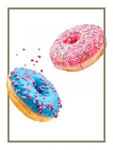 Donuts mit Glasur   KostBar Ganderkesee